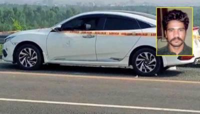 موٹروے زیادتی کیس' مرکزی ملزم عابد کو 14 روز کیلئے جیل بھیج دیا گیا