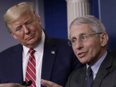 ٹرمپ اور ڈاکٹر فاﺅچی مابین تلخیوں میں اضافہ، امریکی صدر نے ماہر امراض کو ملکی تباہی کا ذمہ دار قرار دےدیا