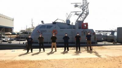 ترک مسلح افواج نے لیبیا کے دستوں کی کوسٹ گارڈ ٹریننگ شروع کر دی