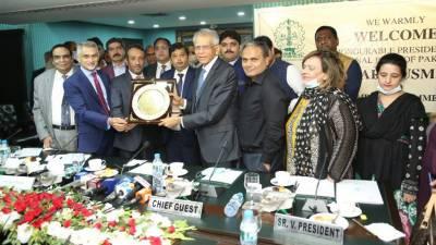 نیشنل بینک نوجوان انٹرپرینورزکو سہولیات فراہم کرنے کے لئے تیار ہے: صدر نیشنل بینک آف پاکستان
