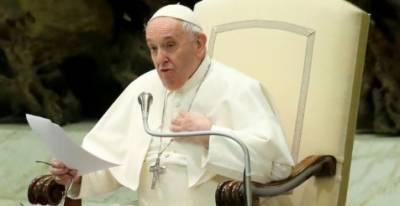 پوپ فرانسس کی ہم جنس پرستوں کیلئے سماجی تحفظ کی حمایت