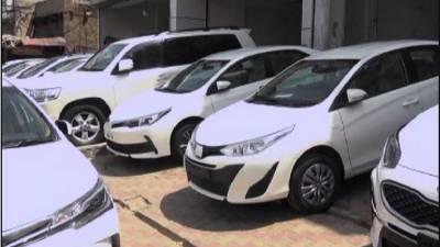ملک میں کاروں کی فروخت میں ستمبر2020 کے دوران 8.57 فیصد اضافہ