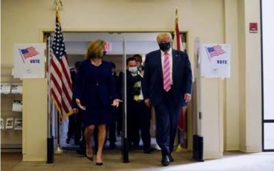 امریکی صدر ڈونلڈ ٹرمپ نے صدارتی انتخاب سے قبل ووٹ کاسٹ کردیا