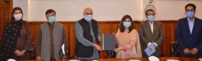 پنجاب یونیورسٹی اورلاہور آرٹس کونسل کے مابین ادب و ثقافت کے فروغ کیلئے معاہدہ