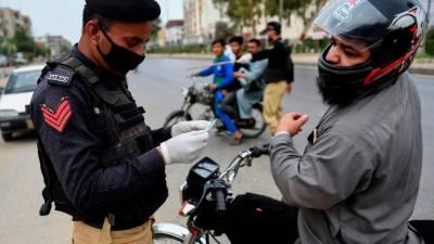 اسلام آباد میں ماسک نہ پہننے پر پولیس گرفتار کرسکے گی، نوٹیفکیشن جاری