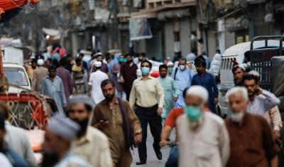 کراچی : ماسک پہننے کا رجحان نہ ہونے کے برابر