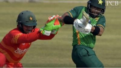 پہلا ون ڈے: پاکستان کا زمبابوے کو 282 رنز کا ہدف