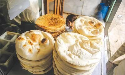کوئٹہ ،روٹی کی قیمت 20 روپے ہو گئی ، نان بائیوں نے ہڑتال ختم کردی
