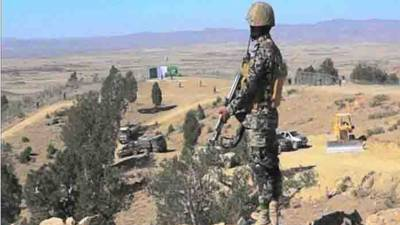 ژوب ، پاک افغان سرحد پر دہشت گردوں کی فائرنگ، ایک ایف سی اہلکار شہید، 2 زخمی