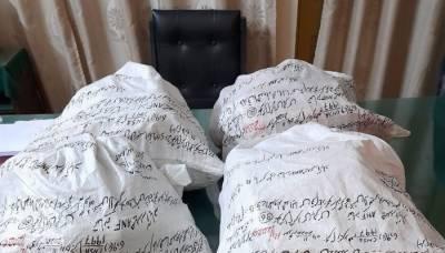کراچی:ANFکی کارروائیاں ،130کلو گرام چرس برآمد
