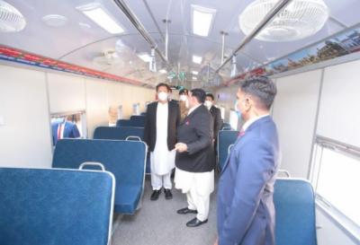 وزیراعظم عمران خان نے حسن ابدال ریلوے اسٹیشن کا افتتاح کردیا