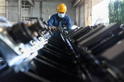 چین کی صنعتی پیداوار میں اکتوبر میں 6.9 فیصد اضافہ