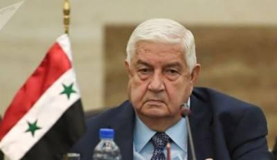 شام کے وزیر خارجہ ولید المعلم انتقال کرگئے