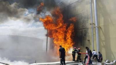 ایران میں ایک گیس پمپ پر دھماکہ، متعدد افراد زخمی