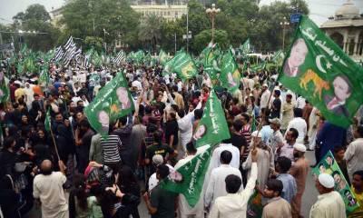 مسلم لیگ ن کے آج مانسہرہ میں جلسے کی تیاریاں مکمل