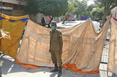 کورونا وائرس ،راولپنڈی کے مختلف علاقوں میں سمارٹ لاک ڈائون کا آغاز