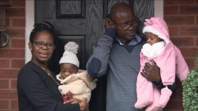 کرونا کے باعث کوما میں جانے والی خاتون کے ہاں جڑواں بچوں کی پیدائش