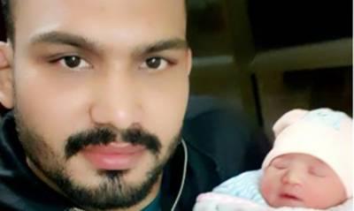پاکستان کے نمبر ون ریسلر انعام بٹ بیٹی کے باپ بن گئے