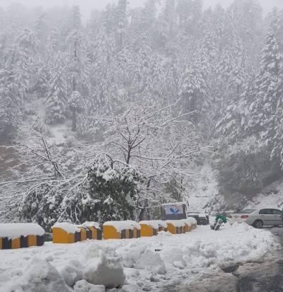 ملک بھر میں آج بارش اور بالائی علاقوں میں برفباری کا امکان:محکمہ موسمیات
