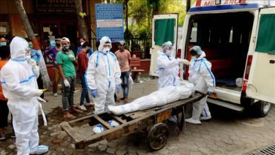 بھارت: 1 دن میں 44 ہزار کورونا وائرس کیسز رپورٹ