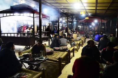 پشاور,سردی کی شدت میں اضافہ ہونے پر گرم مشروبات کی مانگ بڑھ گئی