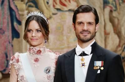 سوئیڈن کے شہزادہ فلپ اور اہلیہ کورونا میں مبتلا
