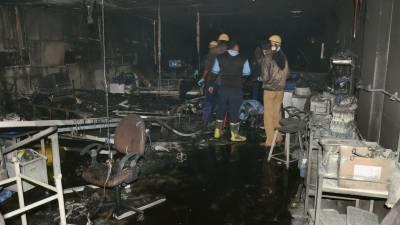بھارت،ہسپتال کے آئی سی یو میں آتشزدگی سے 5 افراد ہلاک