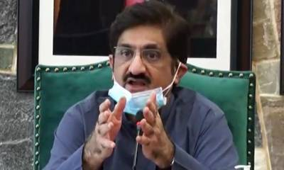 وزیراعلیٰ سندھ کی طبیعت میں بہتری