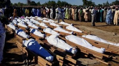 نائیجیریا میں 110 افراد کا بے رحمانہ قتل
