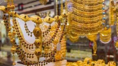 پاکستان میں ایک تولہ سونے کی قیمت350 روپے بڑھ گئی