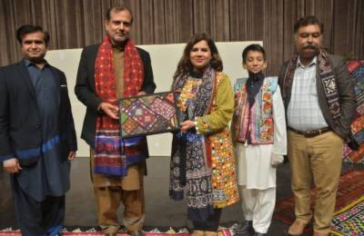 سندھی ثقافت اجگر کرنے کےحوالے سے الحمرا میں تقریب