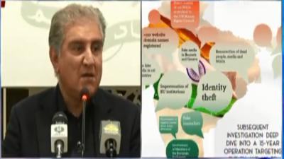 وزیر خارجہ کے 'انڈین کرونیکلز' نامی دستاویز کے حوالے سے تہلکہ خیز انکشافات