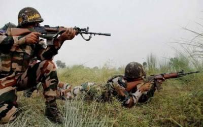بھارتی فوج کی ایل اوسی پربلا اشتعال فائرنگ ، 45 سالہ شہری زخمی