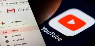 دنیا بھر میں یوٹیوب اور جی میل کی سروس متاثر