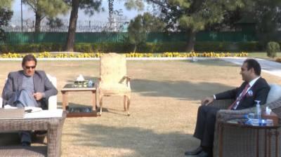 وزیراعظم سے برطانوی ایوانِ بالا کے رکن لارڈ عامر سرفراز کی ملاقات