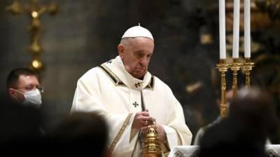ویٹی کن میں کرسمس کی ورچوئل تقریب، پوپ فرانسس کی دعا