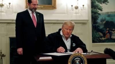 ٹرمپ نے 900 ارب ڈالر کے کورونا بل پر دستخط کر دیئے