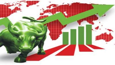 پاکستان اسٹاک مارکیٹ میں تیزی کا رجحان برقرار,کے ایس ای100نڈیکس 45654.34پوائنٹس کی بلند سطح پر پہنچ گیا