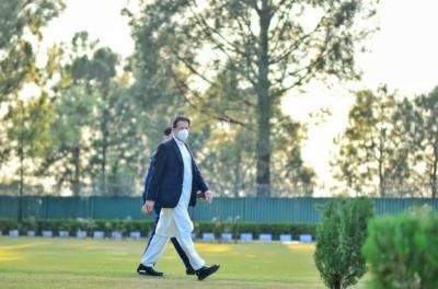 وزیراعظم عمران خان کوئٹہ پہنچ گئے