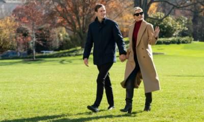 ٹرمپ کی بیٹی اور داماد نے قومی خزانے سے ایک لاکھ 44 ہزار ڈالر ٹوائلٹس میں بہا دئیے