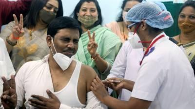 بھارت بھر میں کوروناویکسینیشن مہم کا آغاز