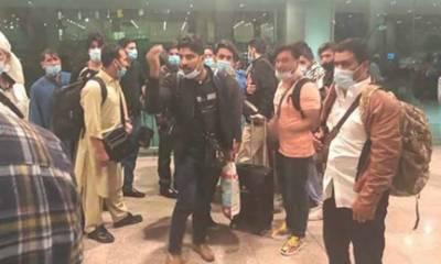 ملائیشیا میں پھنسے پاکستانی وطن واپس پہنچ گئے