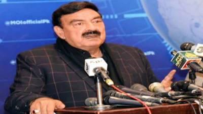 الیکشن کمیشن کے سامنے پی ڈی ایم کی ریلی میں کوئی رکاوٹ کھڑی نہیں کی جائے گی :شیخ رشید احمد