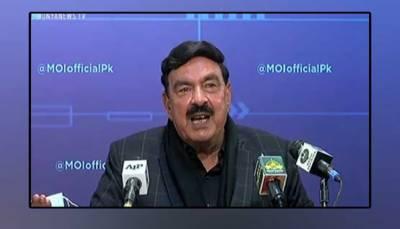 فارن فنڈنگ کیس الٹا پڑے گا، مولانا خود پھنسنے جارہے ہیں: وزیر داخلہ شیخ رشید