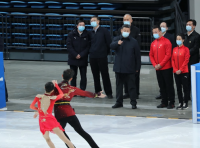 چینی صدر کا بیجنگ ونٹر اولمپک گیمز اور ونٹر پیرالمپک گیمز کی تیاریوں کا جائزہ