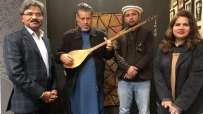 گلگت بلتستان کے ثقافتی وفد نے لاہور آرٹس کونسل الحمراءکا دورہ کیا