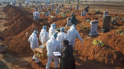 کورونا وائرس' دنیا بھر میں ہلاکتیں2116336ہو گئیں