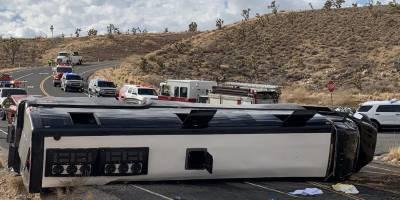 امریکی ریاست ایریزونا میں بس الٹ گئی،ایک شخص ہلاک اور 41زخمی