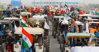 بھارت کے یوم جمہوریہ پر کسان مودی کو سبق سکھانے کیلئے تیار، لال قلعہ بند، کرفیو جیسی صورتحال
