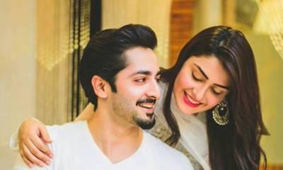 عائزہ اور دانش کی ایک اور خوبصورت تصویر سوشل میڈیا پر وائرل